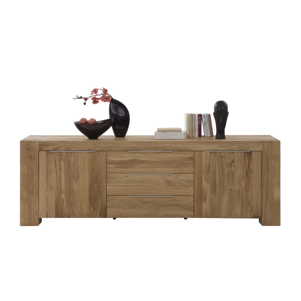 sideboard san sebastian eiche massiv. Black Bedroom Furniture Sets. Home Design Ideas