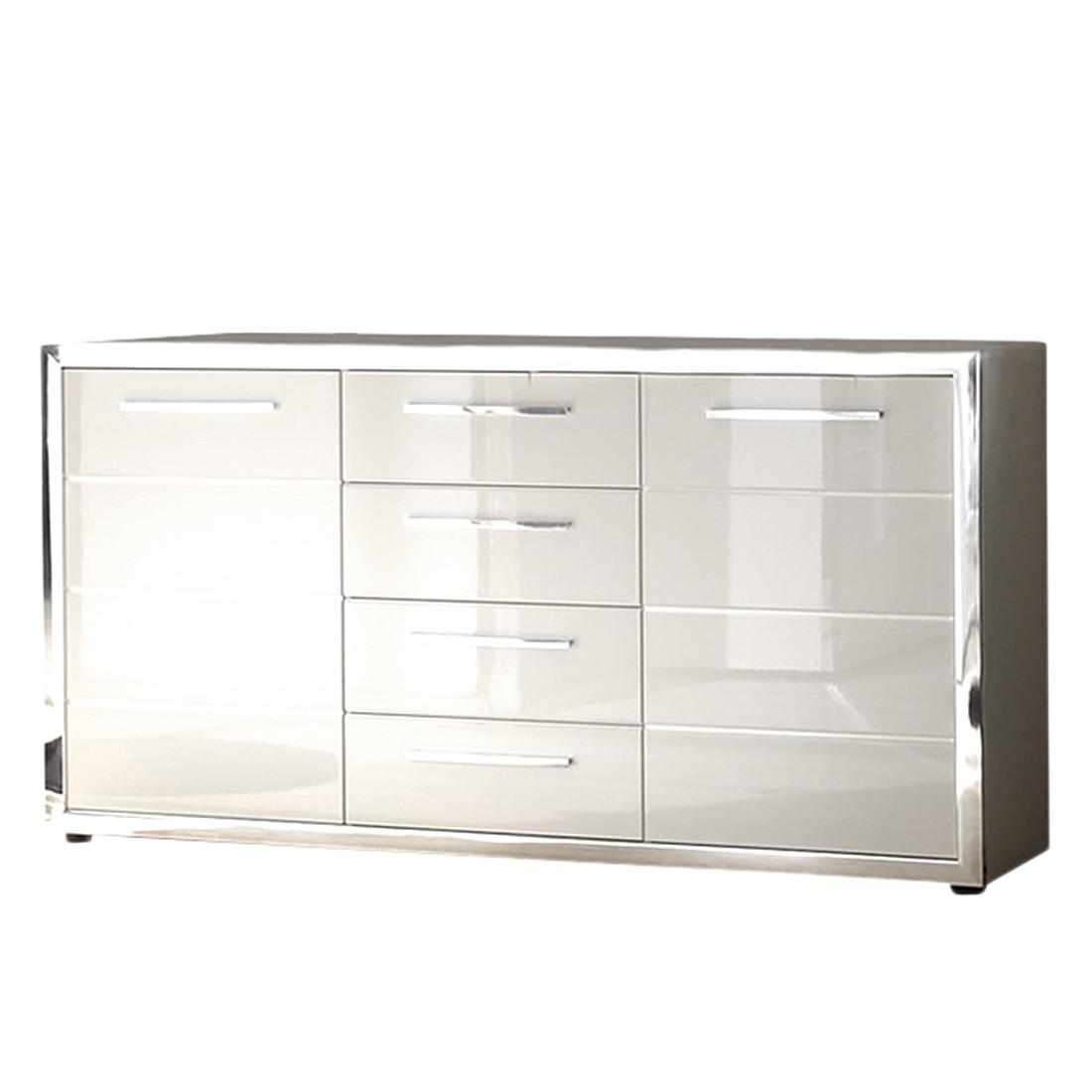 sideboard chrome hochglanz wei roomscape online bestellen. Black Bedroom Furniture Sets. Home Design Ideas