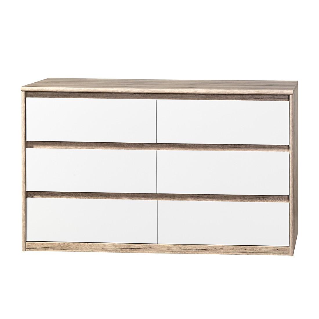 sideboard lindholm v wei dekor eiche massiv m rteens. Black Bedroom Furniture Sets. Home Design Ideas
