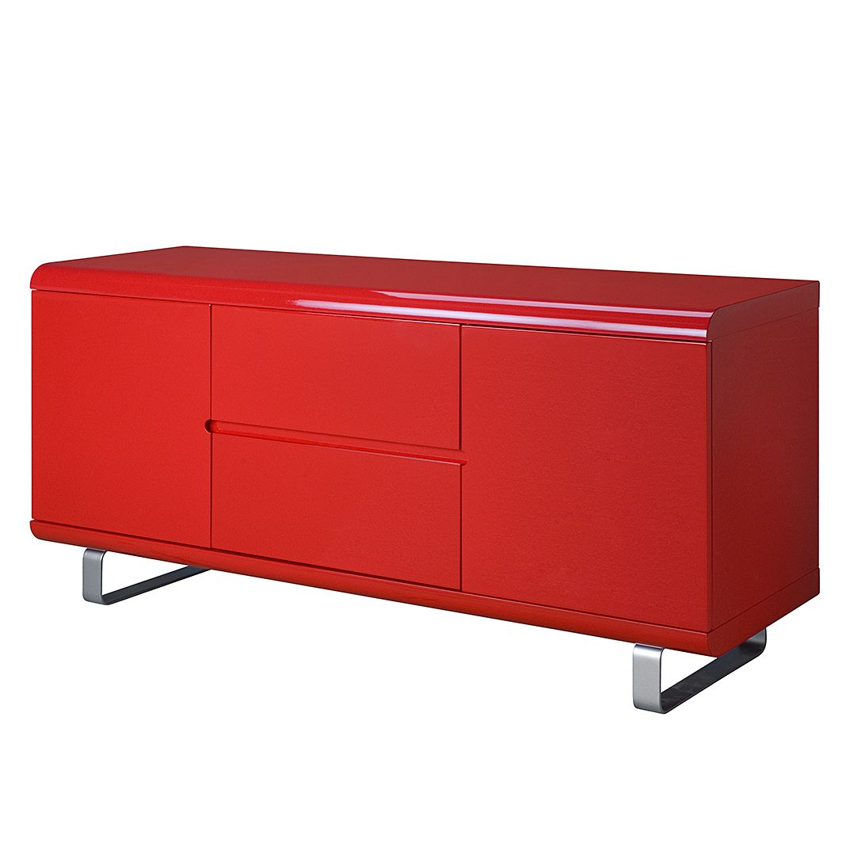 Sideboard Spacy II – Hochglanz Rot, loftscape bestellen