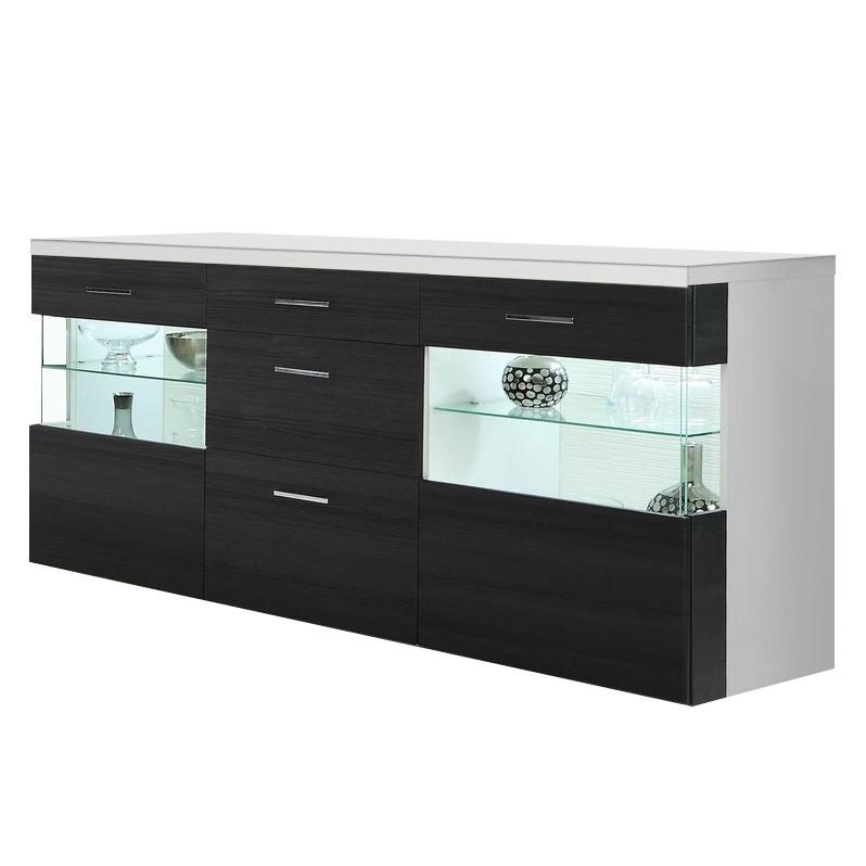 sideboard schwarz preisvergleiche erfahrungsberichte. Black Bedroom Furniture Sets. Home Design Ideas