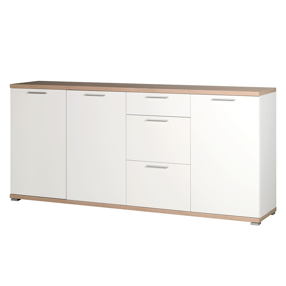 sideboard texture ii wei sonoma eiche dekor top square g nstig kaufen. Black Bedroom Furniture Sets. Home Design Ideas