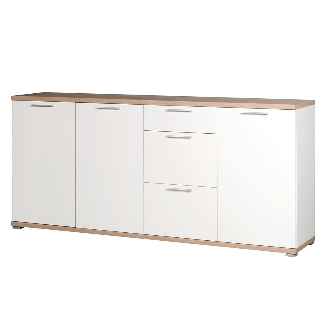 sideboard texture ii wei sonoma eiche dekor top square g nstig kaufen. Black Bedroom Furniture Sets. Home Design Ideas