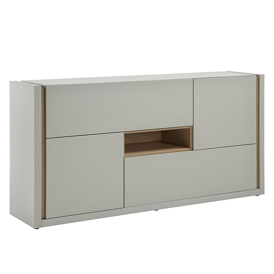 sideboard wei grau g nstig kaufen. Black Bedroom Furniture Sets. Home Design Ideas