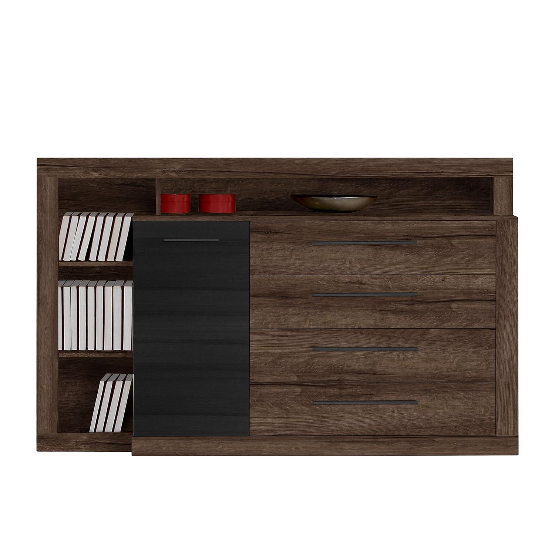 Sideboard Treve – Schwarzeiche Dekor / Schlammeiche Dekor, mooved günstig online kaufen