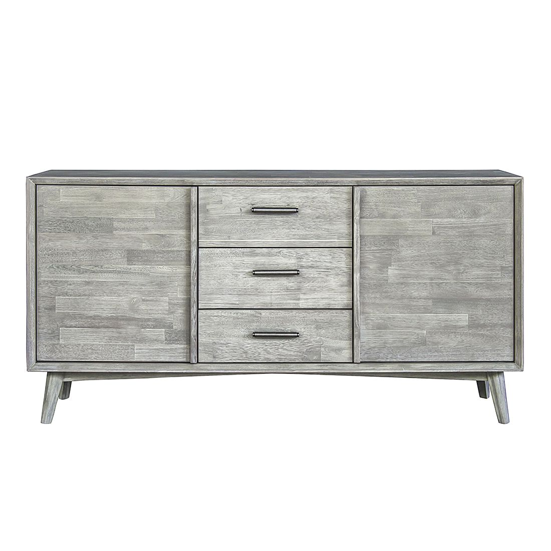 sideboard yomo akazie teilmassiv m rteens g nstig. Black Bedroom Furniture Sets. Home Design Ideas