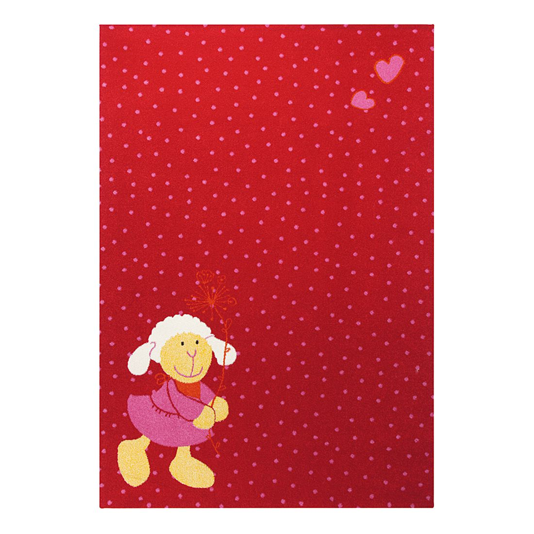 Kinderteppich Schnuggi – Rot – 200 x 290 cm, Sigikid kaufen