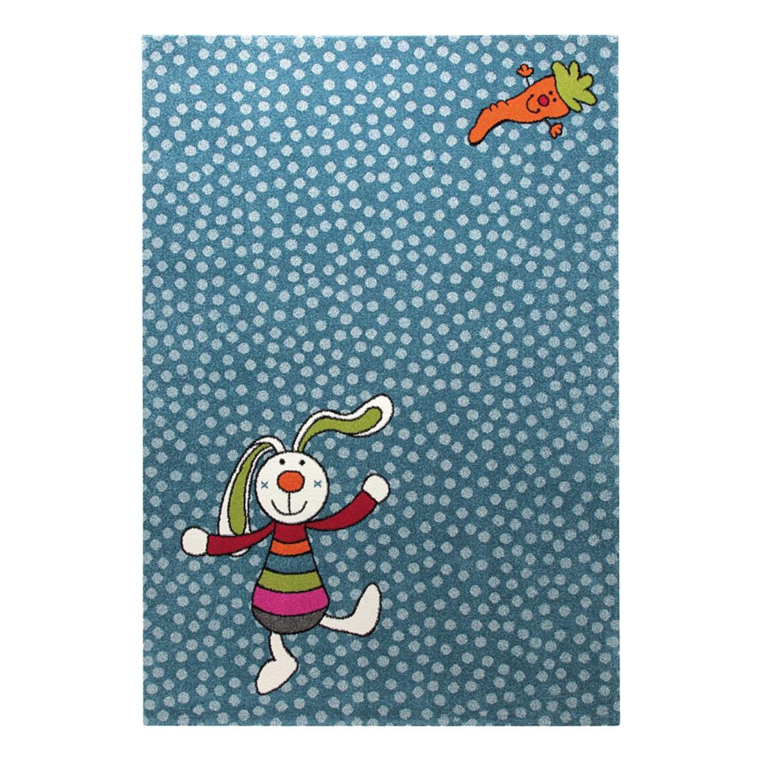 Kinderteppich Rainbow Rabbit – Blau – 200 x 290 cm, Sigikid jetzt bestellen
