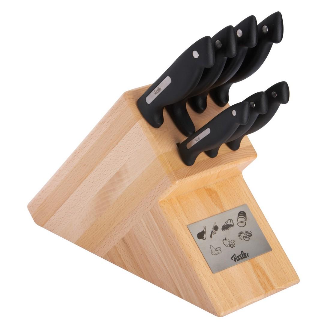 Holzmesserblock Signum (7-teilig) – Natur, Fissler günstig online kaufen