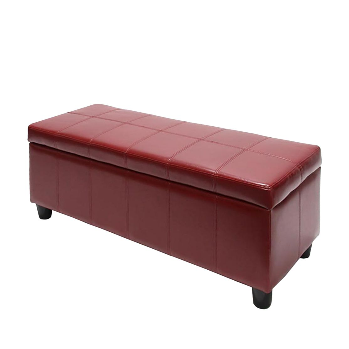 Sitzbank Arezzo – Leder – Rot, Mendler jetzt kaufen