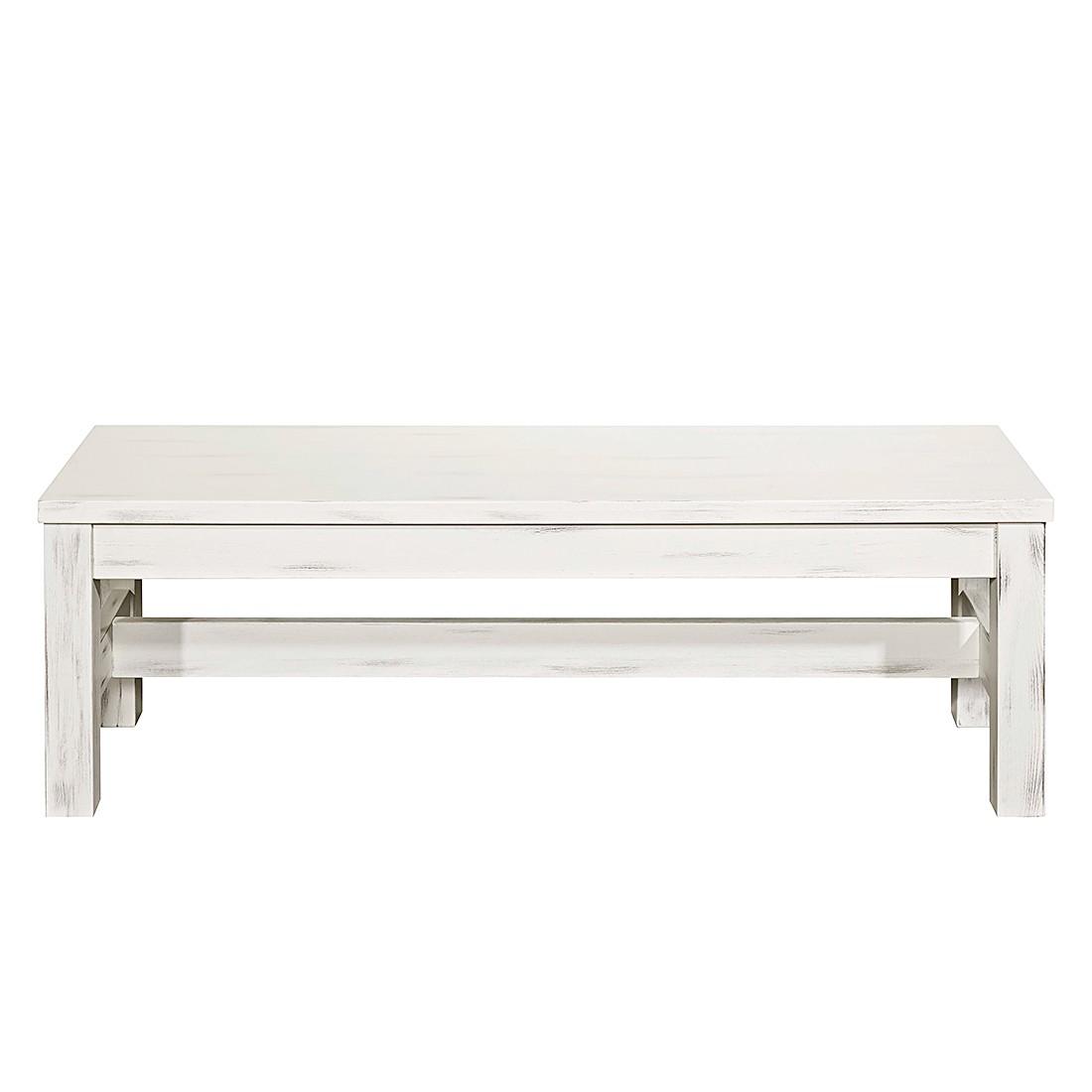 Sitzbank Prado – Kiefer massiv – Vintage Weiß, LMIE jetzt kaufen