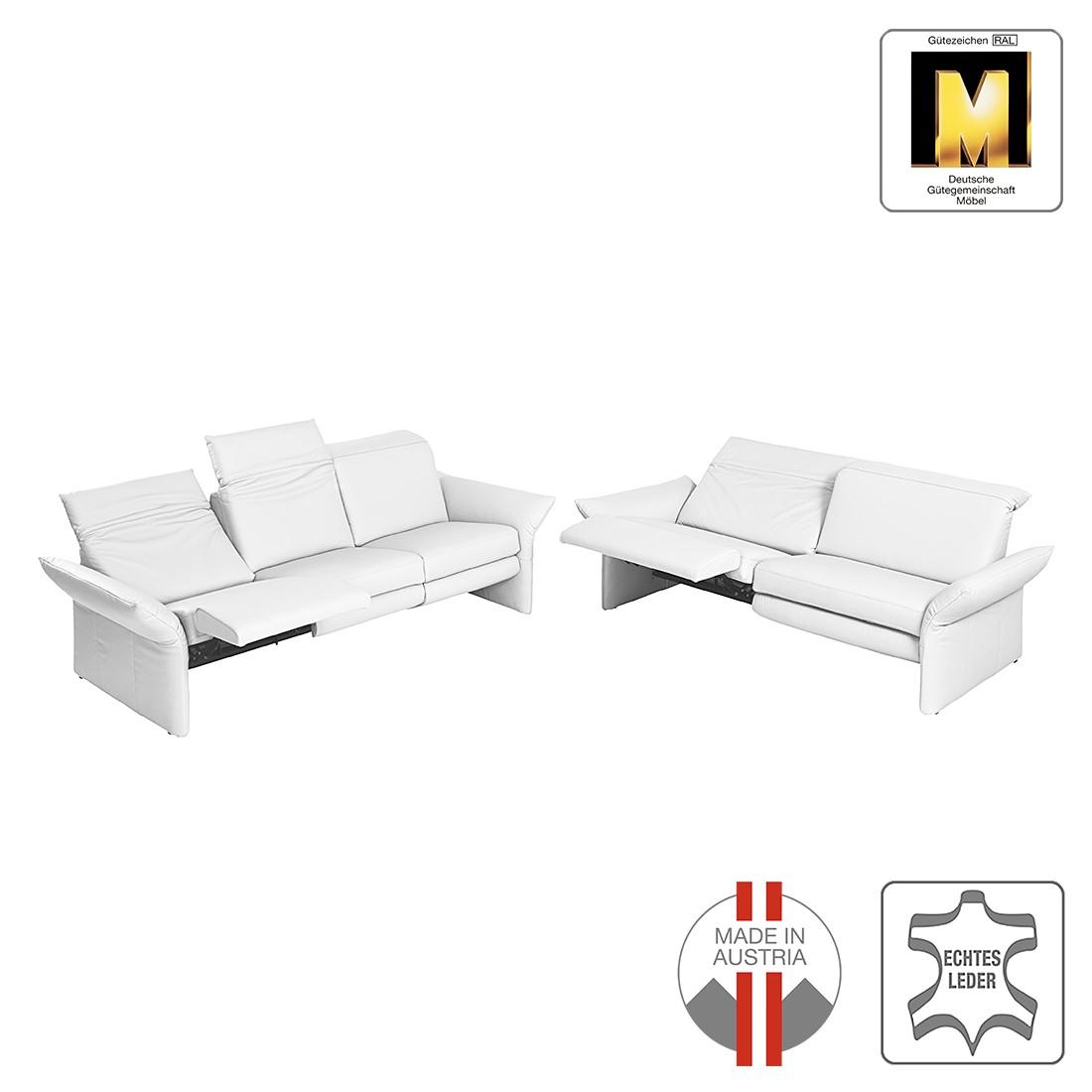 Sitzgruppe Aladin (3-2) – Echtleder – Weiß, ADA premium jetzt bestellen