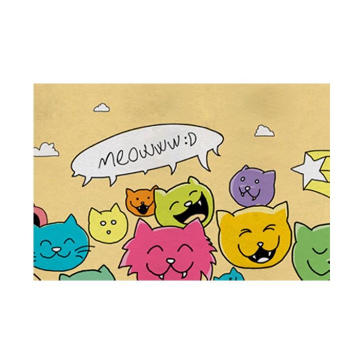 Sitzhocker Meowww – 100% Leinen – Beige, DOGO jetzt bestellen