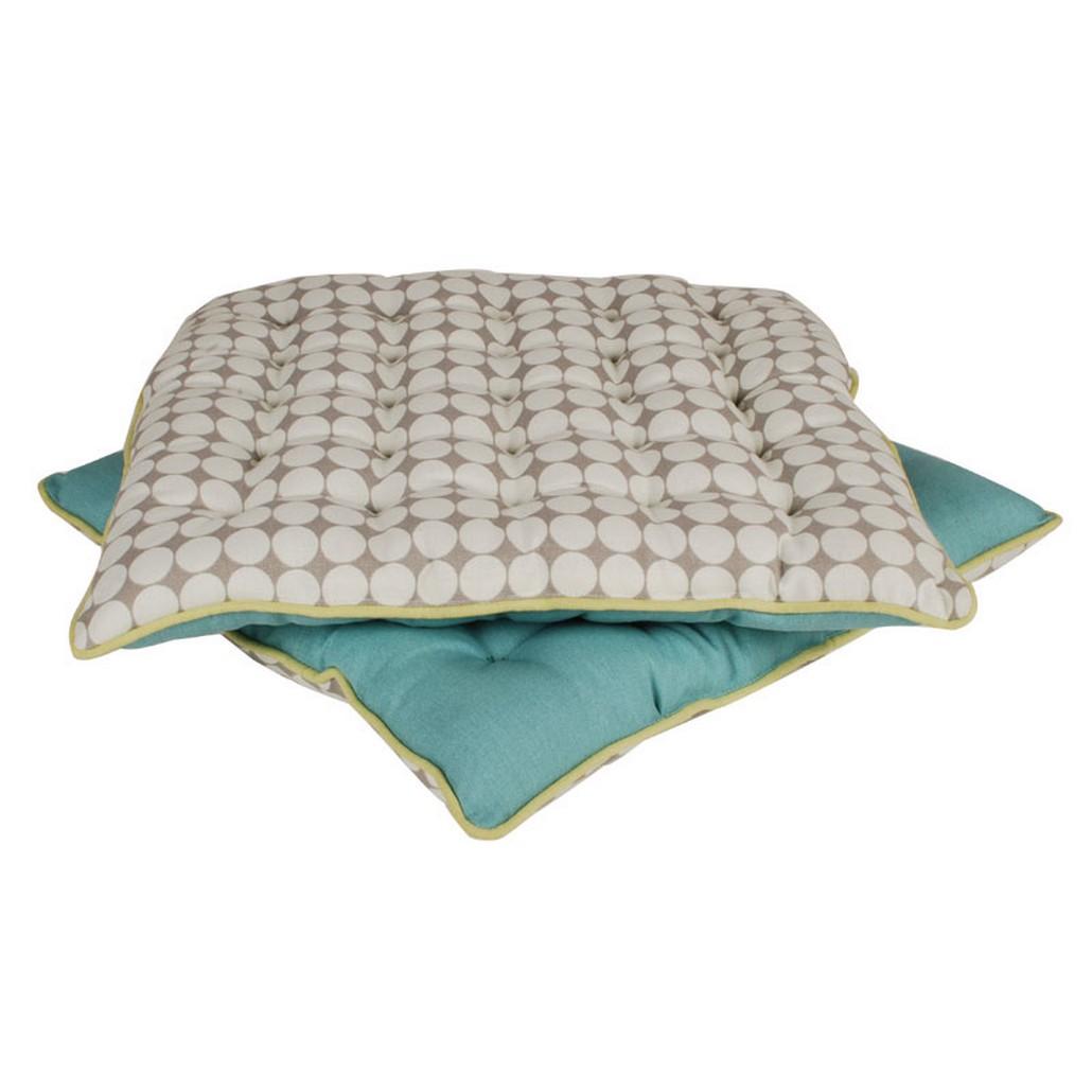 Sitzkissen Design Solo Grey – Baumwolle – Graue/Helbraune Nuance, Aspegren Denmark jetzt kaufen