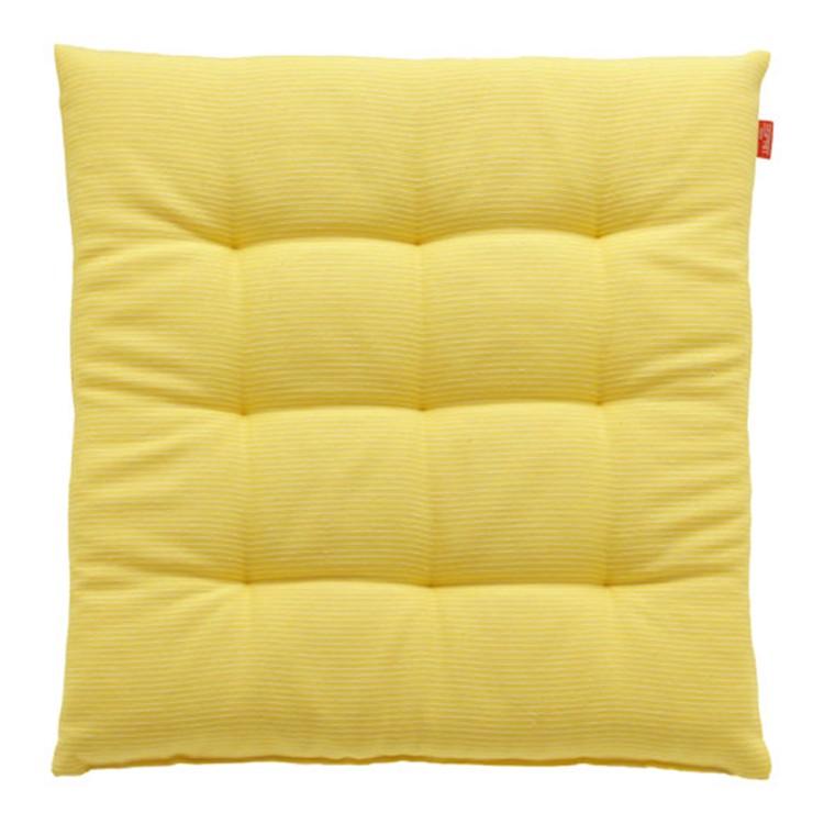 Sitzkissen Needlestripe – Gelb, Esprit Home günstig
