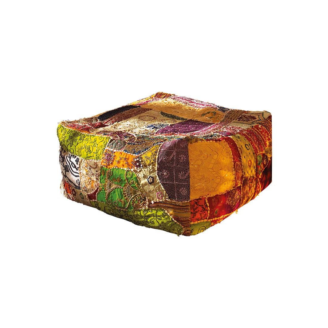 Sitzkissen Patchwork – Baumwolle – Bunt, PureDay bestellen