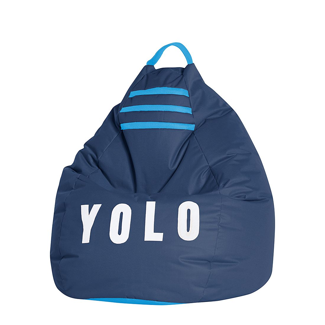 Sitzsack BeanBag Yolo XL – Blau, Fredriks bestellen