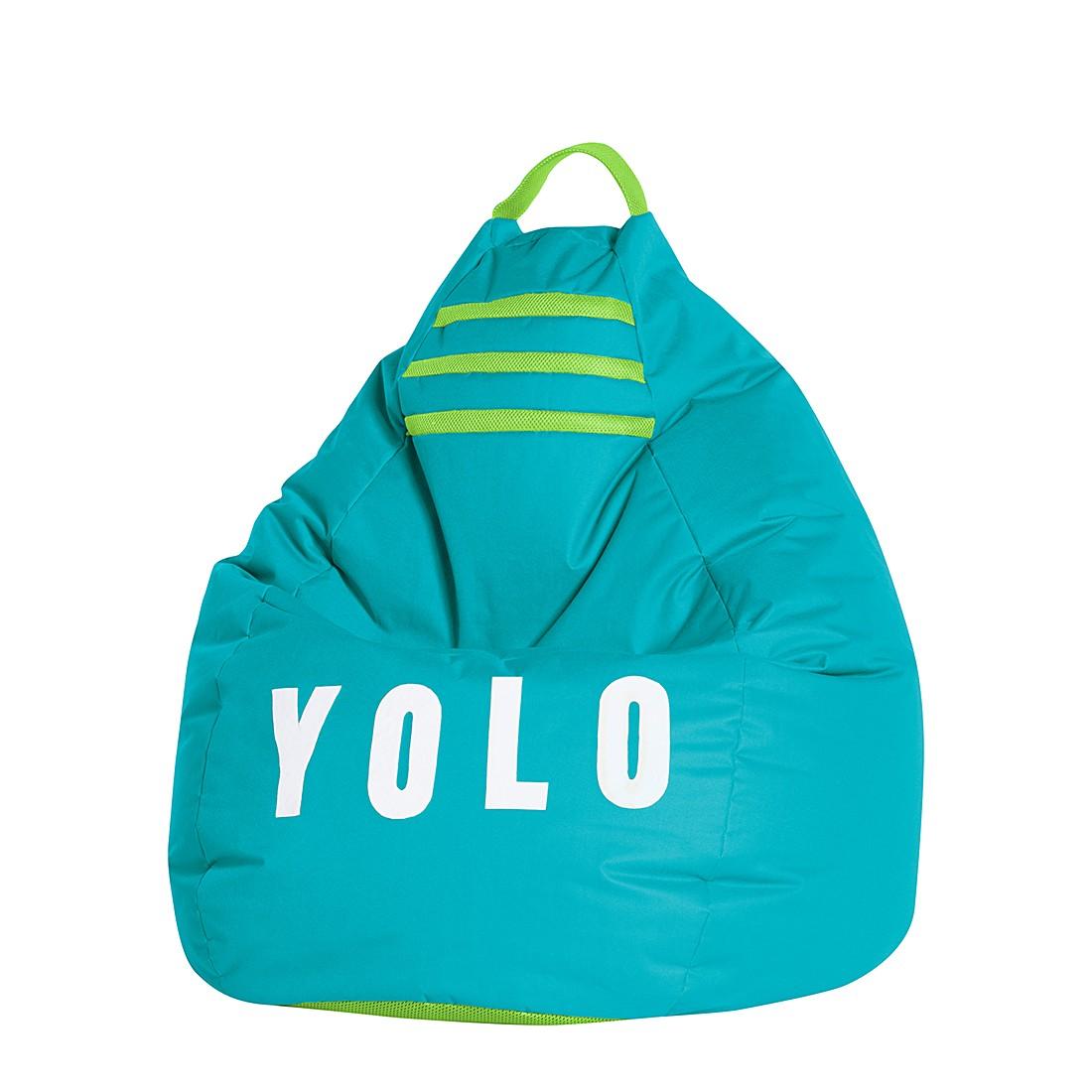 Sitzsack BeanBag Yolo XL – Grün, Fredriks günstig online kaufen