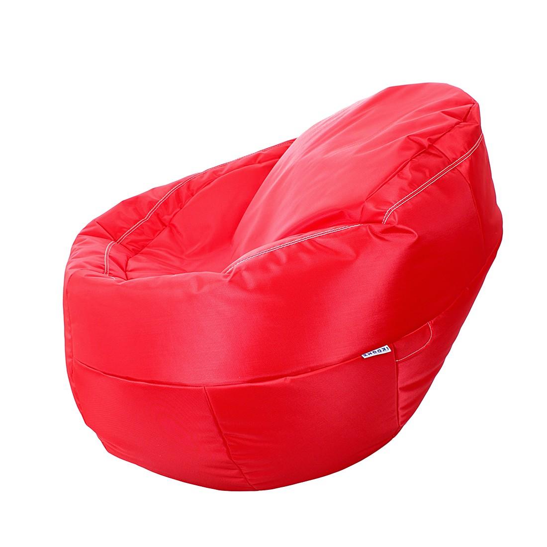 Sitzsack EGxtreme – Webstoff Rot, Ikoonz bestellen