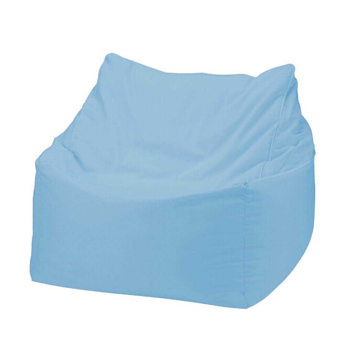 Sitzwürfel 2 in 1Baumwolle impräg. Aqua – 70 x 70 cm, KC-Handel online bestellen