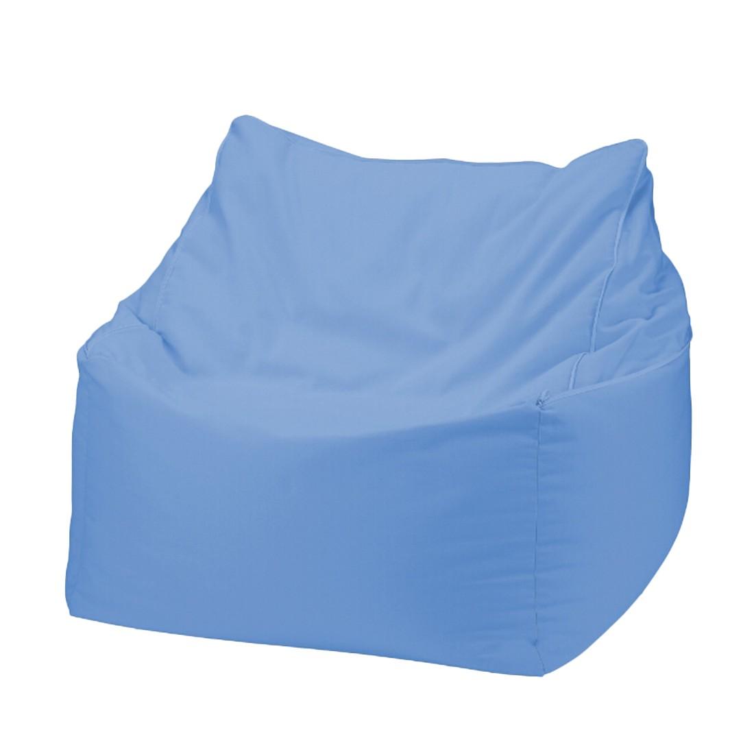 Sitzwürfel 2 in 1Baumwolle impräg. Blau – 50 x 50 cm, KC-Handel günstig online kaufen