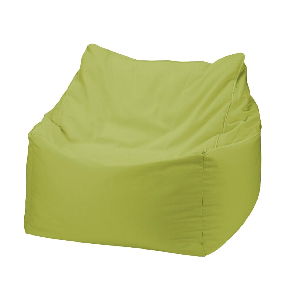 Sitzwürfel 2 in 1Baumwolle impräg. Grün – 50 x 50 cm, KC-Handel günstig kaufen