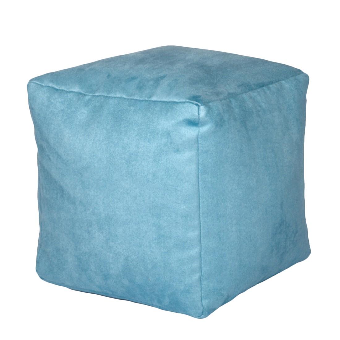 Sitzwürfel Alka türkis klein – 30 x 30 cm, KC-Handel günstig kaufen