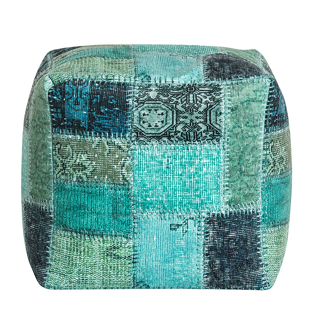 Sitzwürfel Cube Kapi – Microfaser – Petrol, Fredriks bestellen