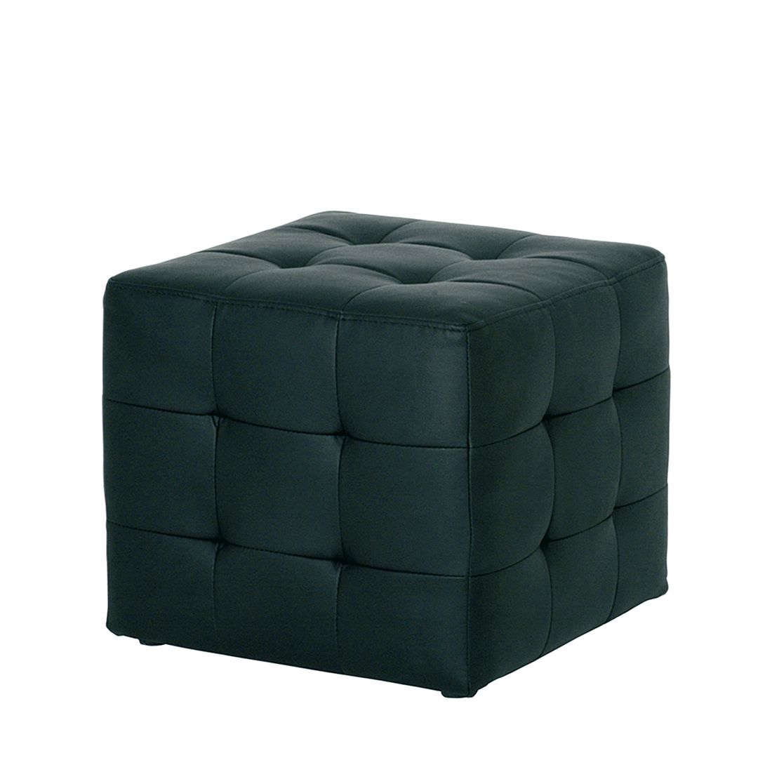 Sitzwürfel Cubix – Kunstleder – Schwarz, Tollhaus online bestellen