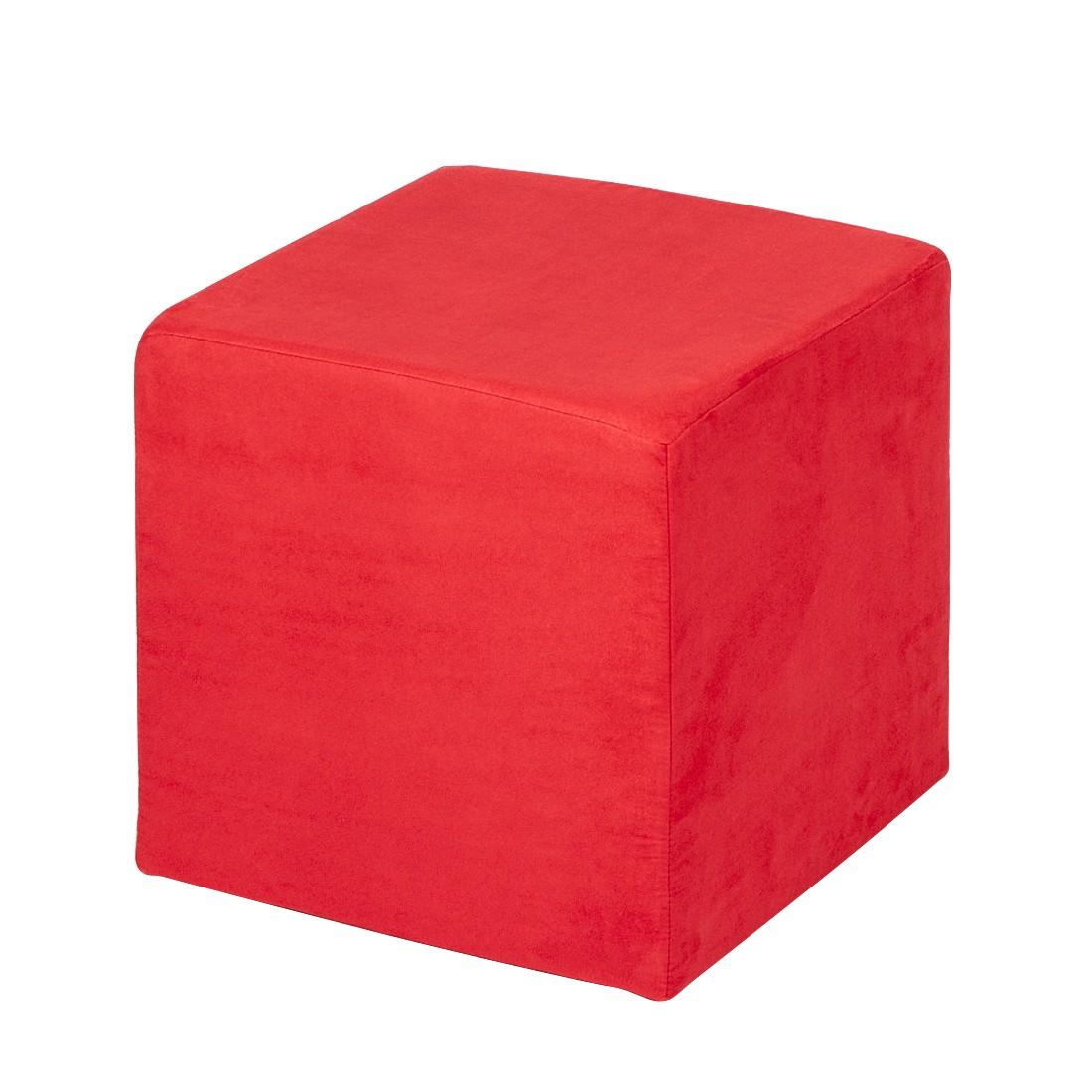 Sitzwürfel Fredrik – Stoff Rot, Fredriks jetzt bestellen