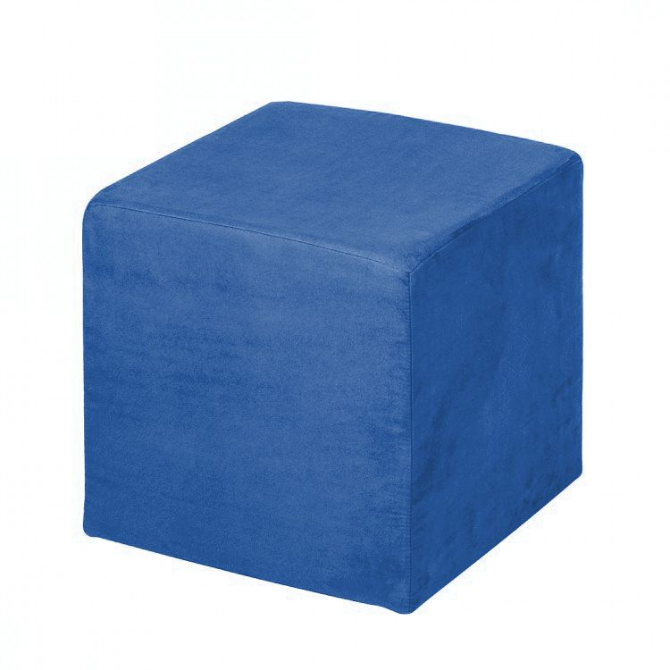 Sitzwürfel Fredrik – Stoff Blau, Fredriks online bestellen