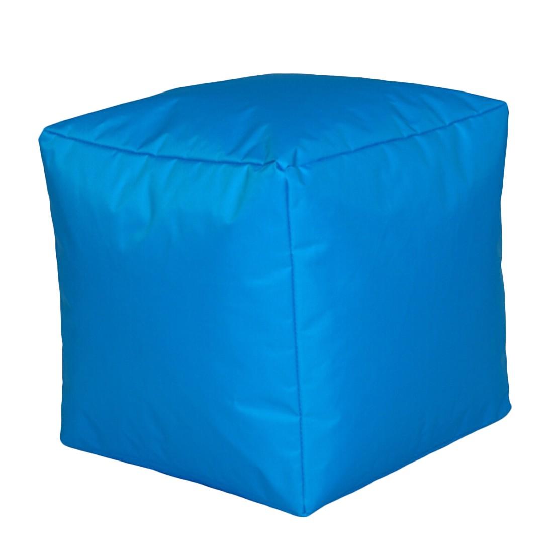 Sitzwürfel Nylon Türkis klein – 40 x 40 cm, KC-Handel günstig bestellen
