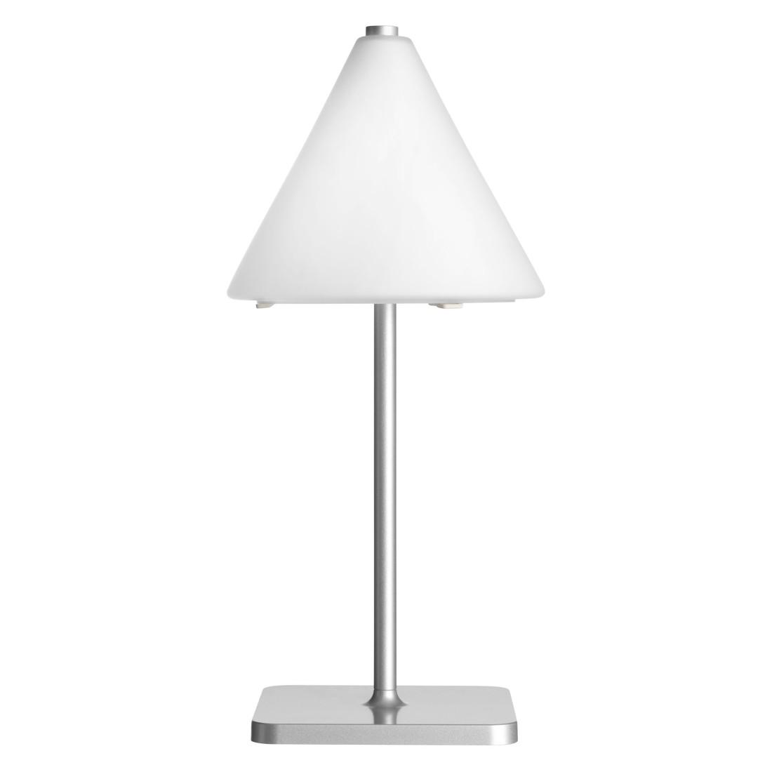 Tischleuchte Size Smallsize-40 ● Glas Weiß- Belux
