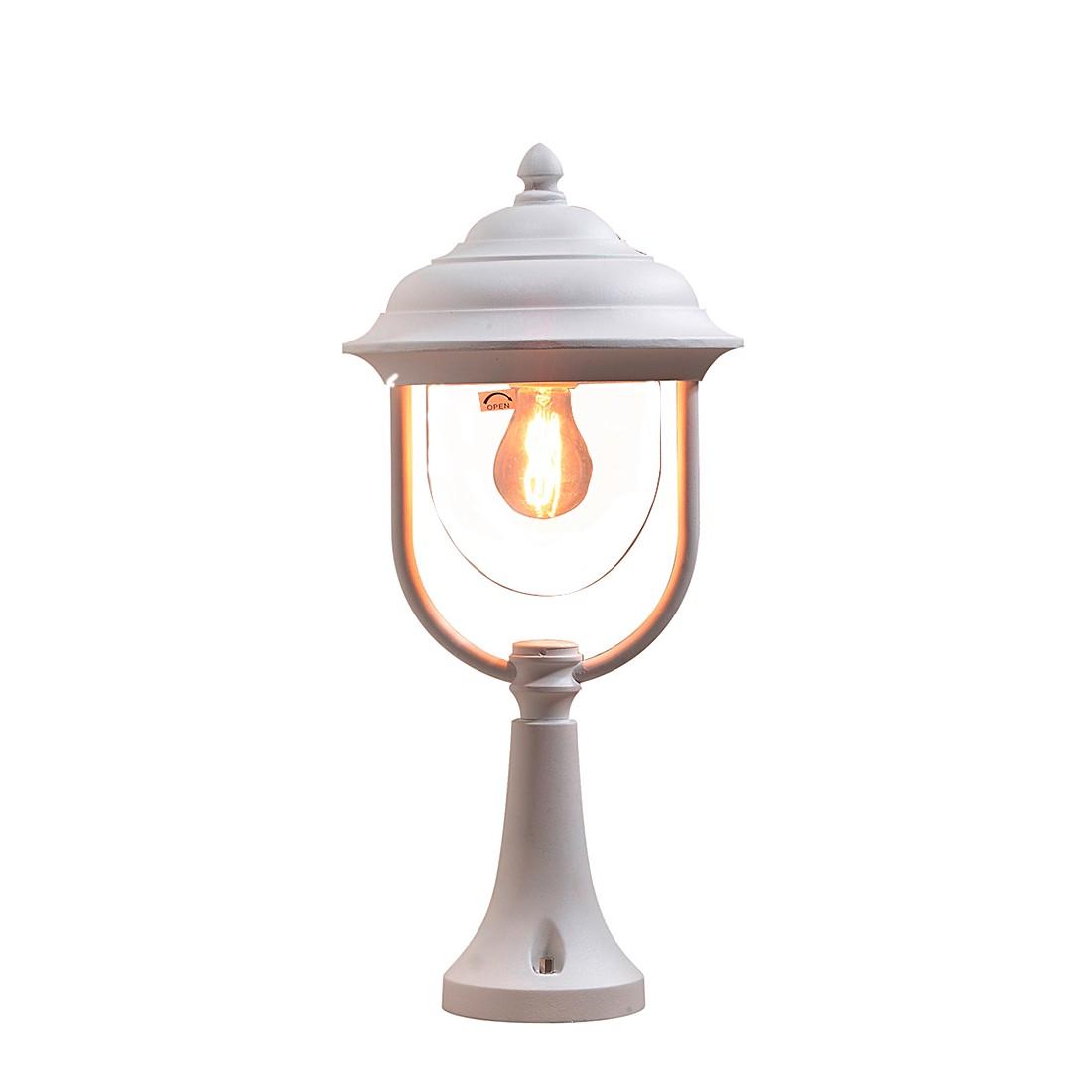 Sockelleuchte Parma ● Aluminium/Glas ● 1-flammig- Konstsmide A++