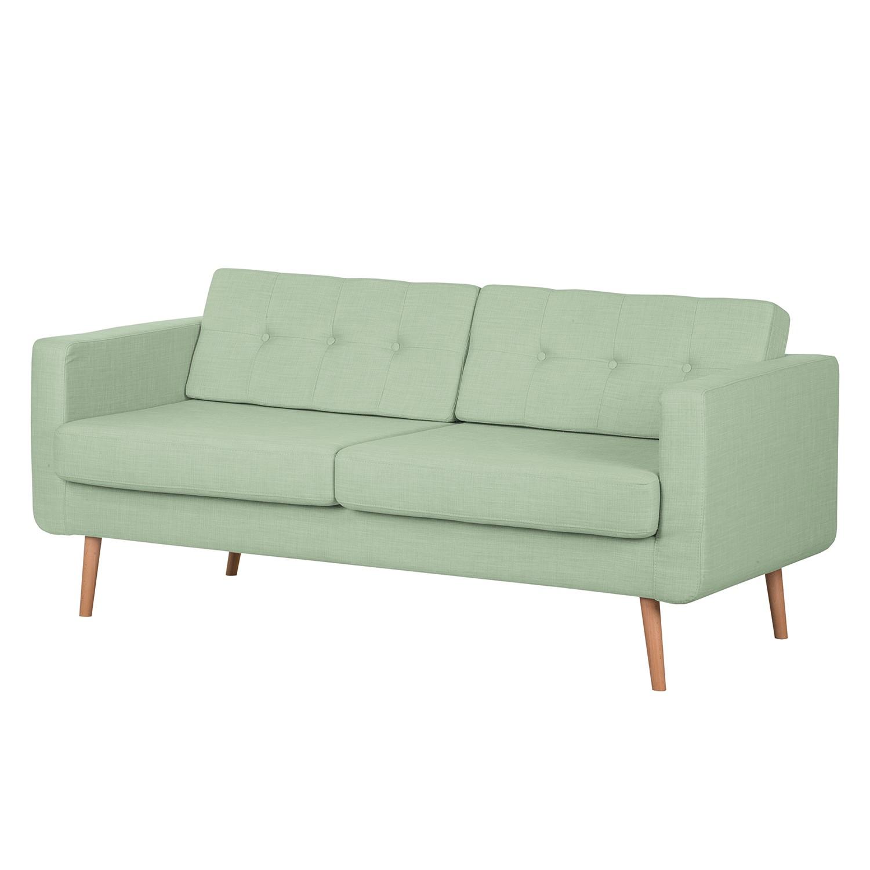 Sofa Aira I (3-Sitzer) – Webstoff – Pastellgrün, kollected by Johanna online kaufen