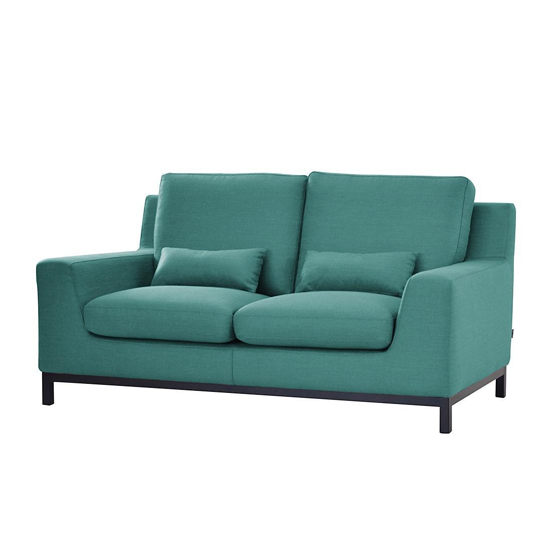 Sofa Alvina (2-Sitzer) – Webstoff – Hellblau, roomscape online bestellen