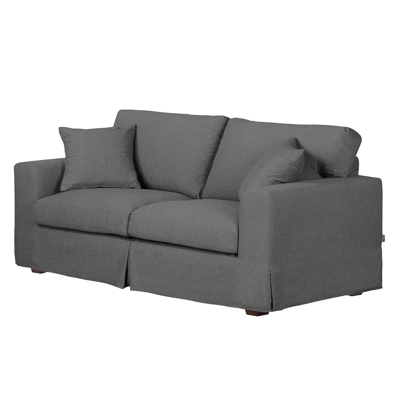 Sofa Alvito II (2,5-Sitzer) – Webstoff – Anthrazit, Jack and Alice kaufen