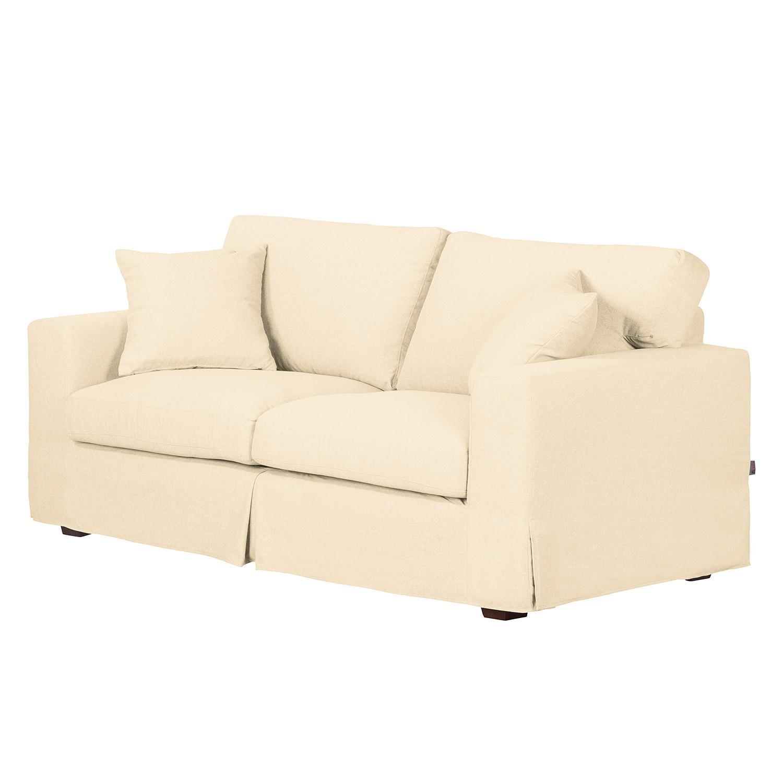 Sofa Alvito II (2,5-Sitzer) – Webstoff – Creme, Jack and Alice günstig kaufen