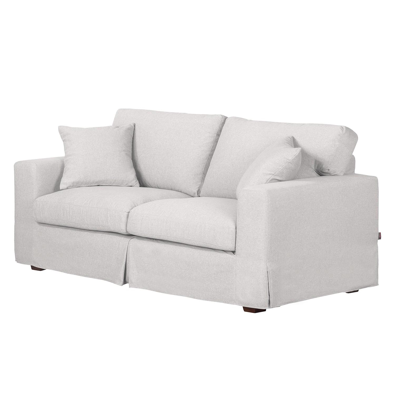 Sofa Alvito II (2,5-Sitzer) – Webstoff – Hellgrau, Jack and Alice günstig online kaufen