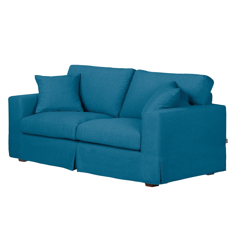 Sofa Alvito II (2,5-Sitzer) – Webstoff – Jeansblau, Jack and Alice online bestellen