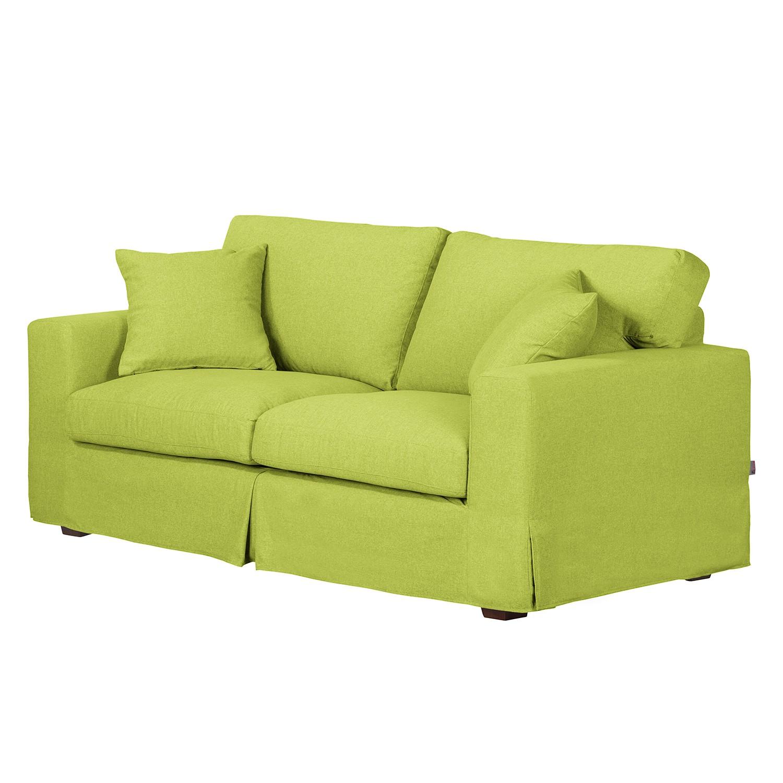 Sofa Alvito II (2,5-Sitzer) – Webstoff – Limengrün, Jack and Alice online kaufen