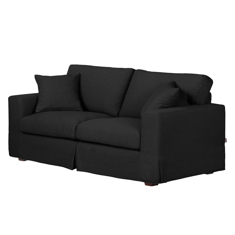 Sofa Alvito II (2,5-Sitzer) – Webstoff – Schwarz, Jack and Alice jetzt bestellen