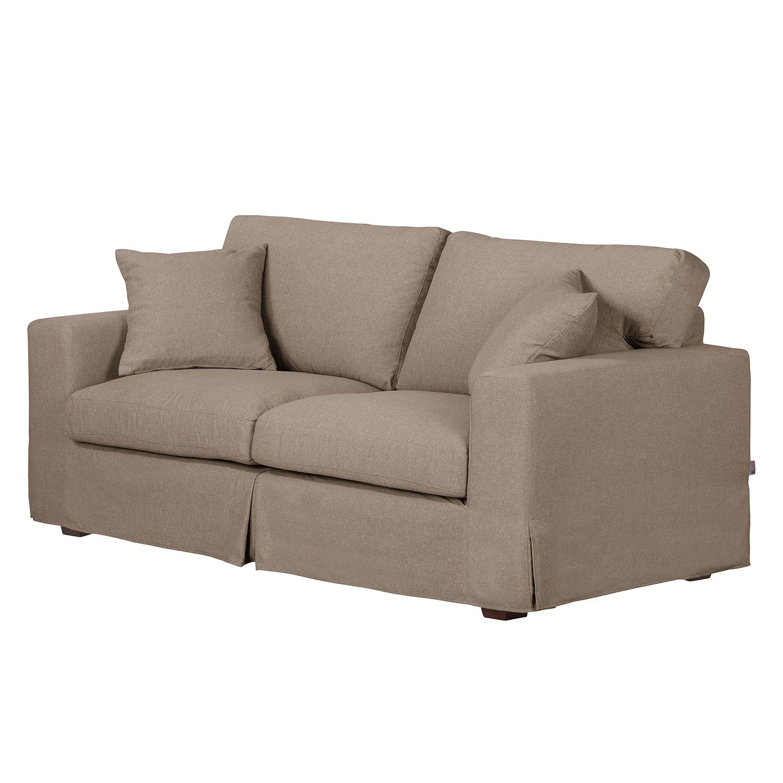 Sofa Alvito II (2,5-Sitzer) – Webstoff – Taupe, Jack and Alice günstig bestellen