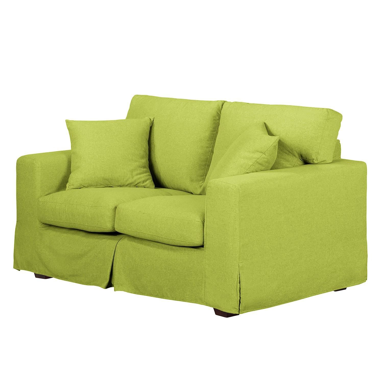 Sofa Alvito II (2-Sitzer) – Webstoff – Limengrün, Jack and Alice online kaufen