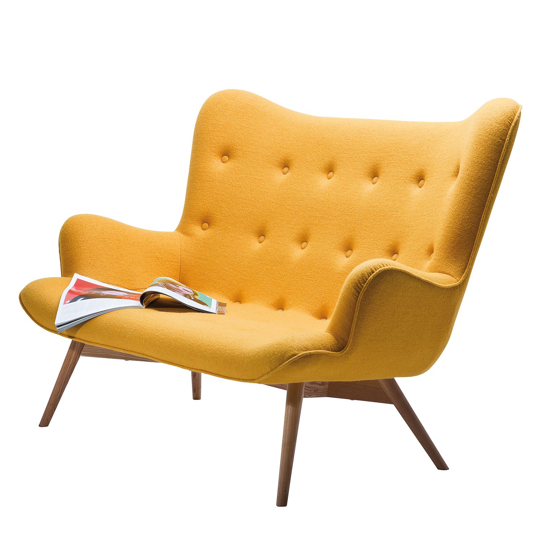 Sofa Angels Wings - Strukturstoff - Gelb, Kare Design