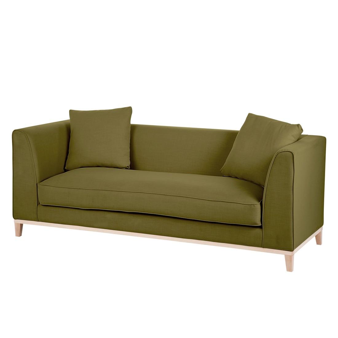Sofa Aristocat (2-Sitzer) – Stoff Olivgrün, Mørteens günstig bestellen