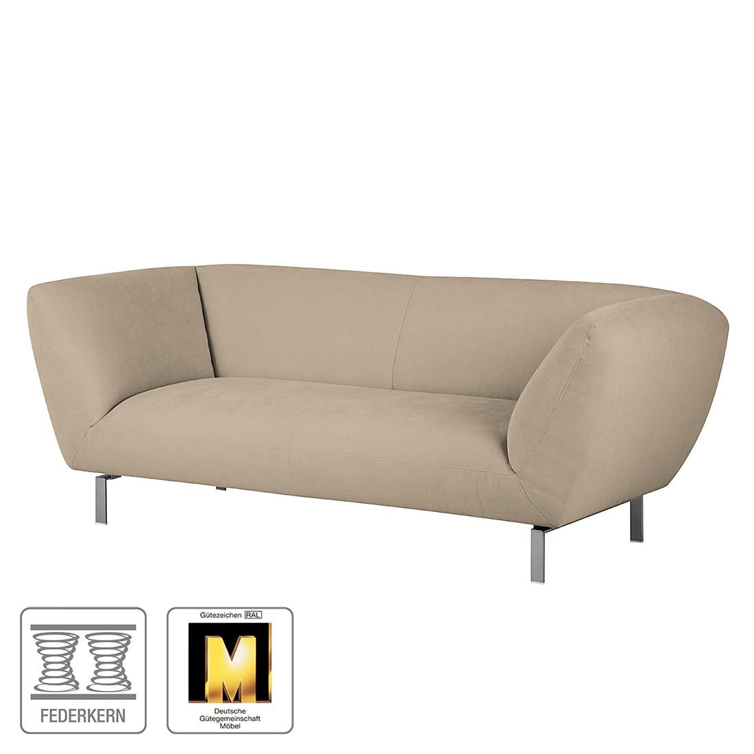 Sofa Blues (2-Sitzer) - Microfaser Taupe, Ultsch Polstermöbel kaufen