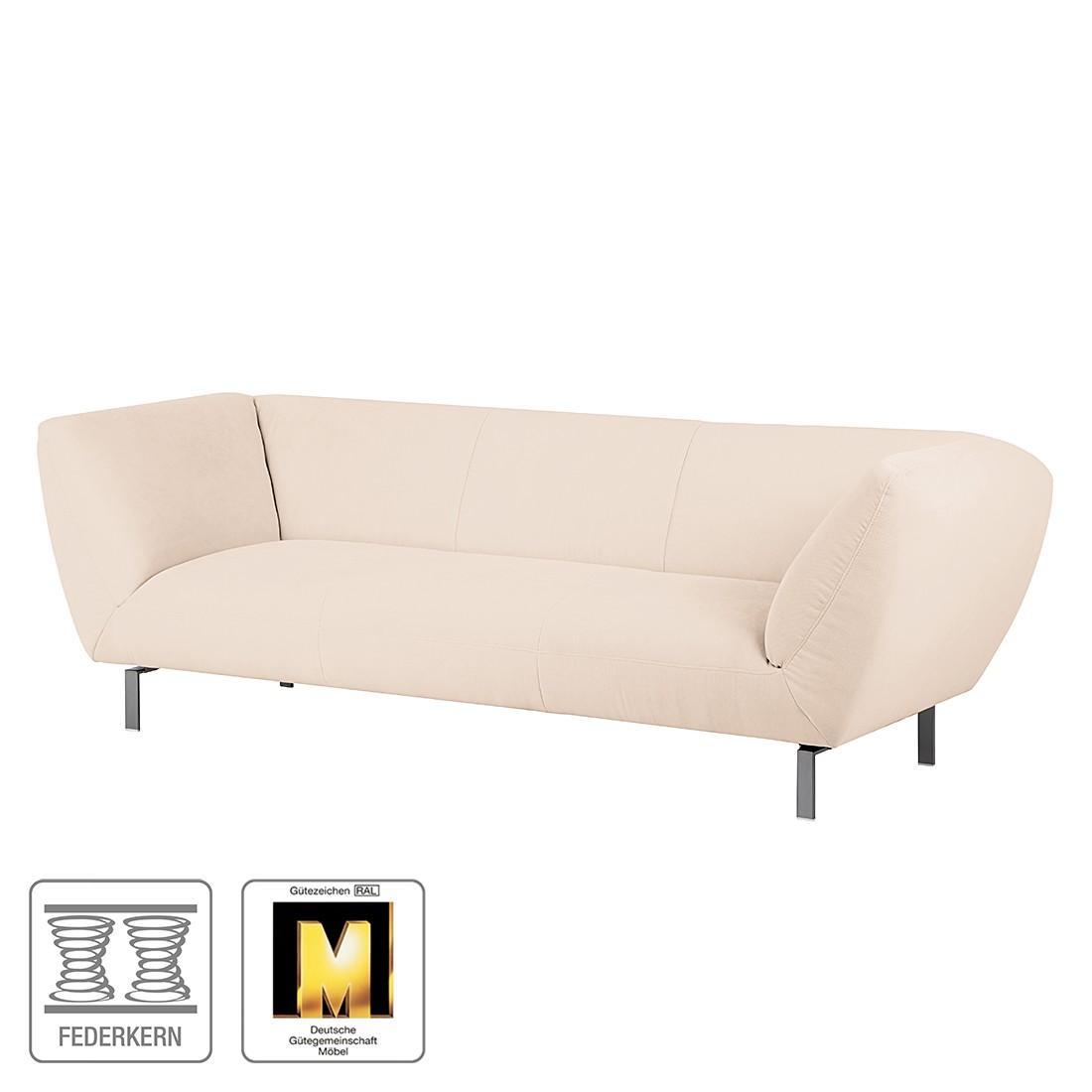 Sofa Blues (3-Sitzer) – Microfaser Beige, Ultsch Polstermöbel günstig kaufen