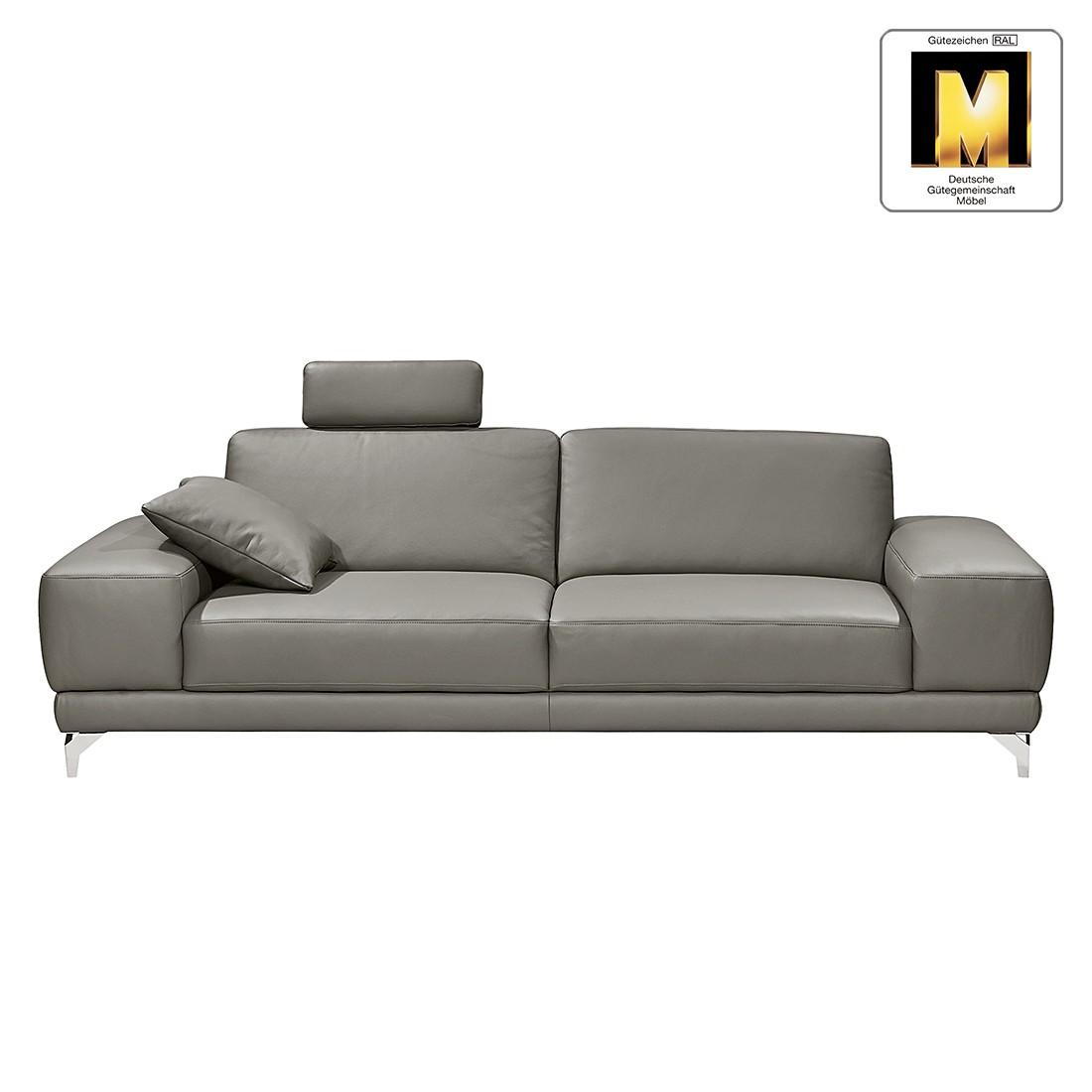 sofa casual line 2 5 sitzer echtleder keine funktion grau gedecktes dickleder claas. Black Bedroom Furniture Sets. Home Design Ideas