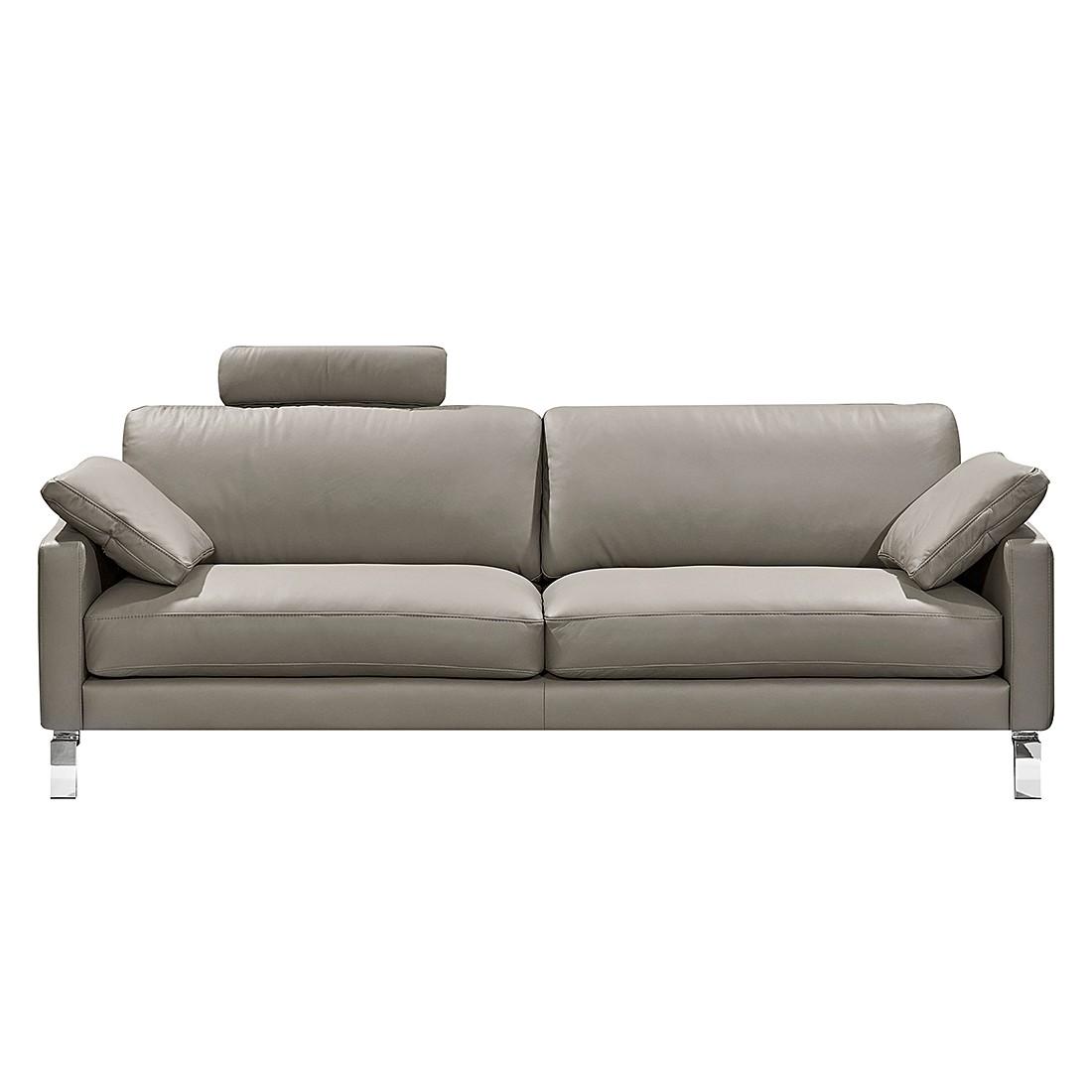 sofa casual line iv 2 5 sitzer echtleder grau gedecktes dickleder claas claasen bestellen. Black Bedroom Furniture Sets. Home Design Ideas